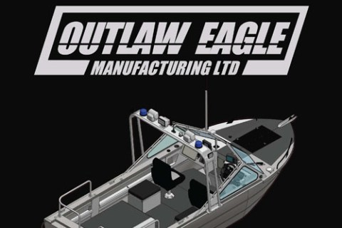 Manual front cover for Outlaw Eagle Manufacturing out of Red Deer, Alberta