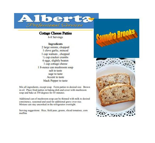 Cottage Cheese Patties