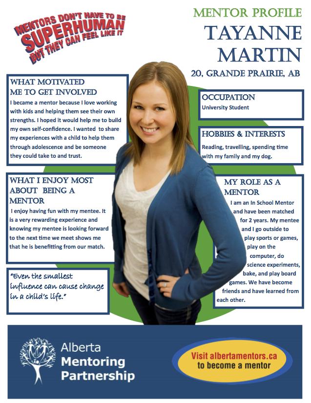 Mentor Profile Tayanne Martin