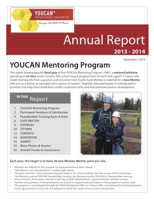 YMP Annual Report 2013-14