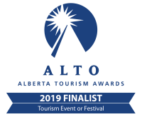 Alberta Tourism Award Finalist 2019 Badge