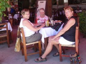 Lunch in La Penita