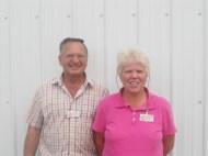 New members Ed & Julie