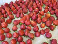 Start with fresh strawberries