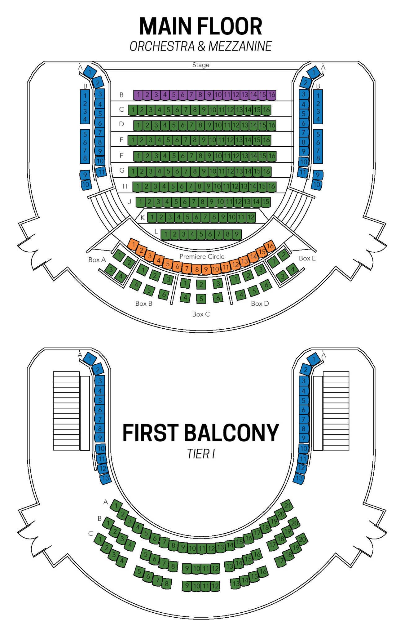 proscenium stage diagram box human ribs seating maps martha cohen theatre alberta projects map