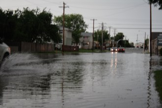 Flooding in Wetaskiwin