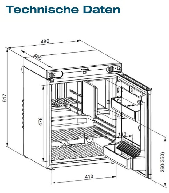 Installation instructions for electrolux 3-way fridge