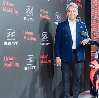 e-scooter, seat
