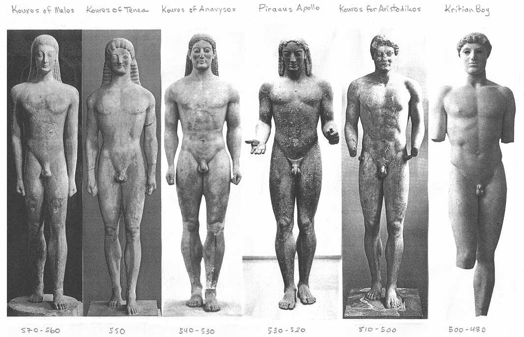 Afbeeldingsresultaat voor egyptian greek statues