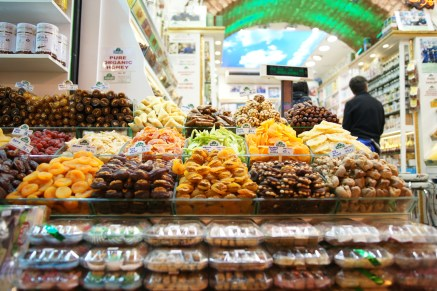 The Grand Bazaar has a lot of varieties of spices and snacks.
