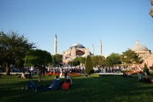 The most famous landmark in Istanbul, previously the central Mosque but now a Museum.