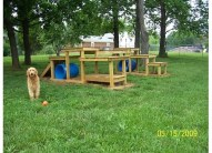 Pallet play area - Found on Pinterest