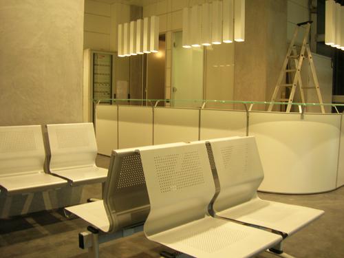 Reception e sala di attesa.