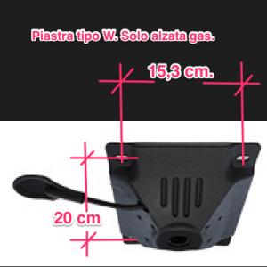 Riparazione sedia da ufficio: Piastra a gas per poltrona da ufficio compreso istruzioni di montaggio in videochiamata (30 min.)