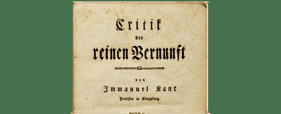 Kant, por qué te importa