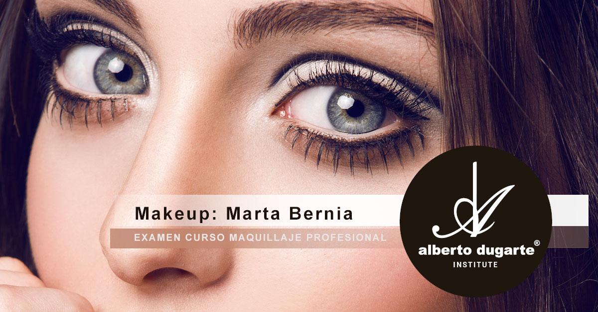 b18b87ef3 El trabajo de la alumna del Curso de Maquillaje Profesional ha sido un  trabajo espectacular. La fotografía, realizada por Adasat Barroso,  fotógrafo de moda, ...