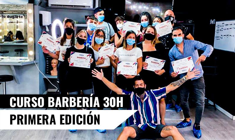 Finaliza la I Promoción de Barberos - Curso Barbería Madrid