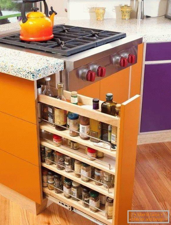 Kitchen Vertical Drawer