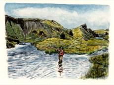 Fishing the Grenlaekur