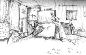 Sketchbook E 6 - Brinkley Victorian, Newport, RI