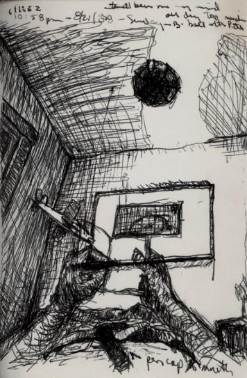 Sketchbook F 8 - Arlington, MA