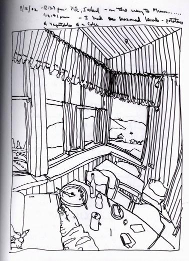 Sketchbook R 31 - Vik, Iceland