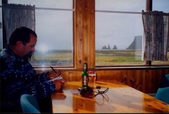 Sketchbook R 32 - Sketch Photo I, Vik, Iceland