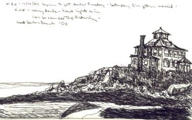 Sketchbooks E 10 - Good Harbor Beach, Gloucester, MA