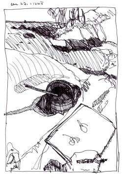 Sketchbooks K 28 - Half Moon Beach, Gloucester, MA