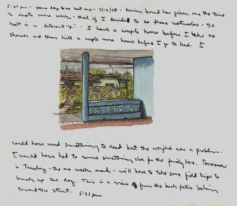 Sketchbook Q 7 - Agramonte, Cuba