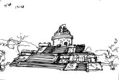 Sketchbooks F 3 - Chichen - Itza, Mexico