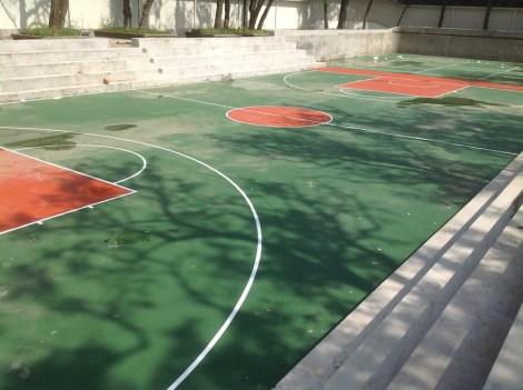 Campo da Basket nel Campus