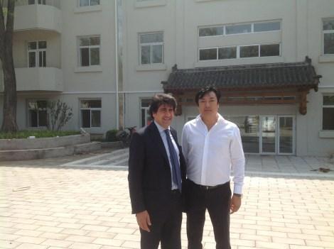 Con Li Yunfei, l'artefice di tutto questo