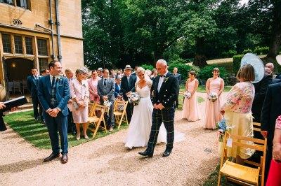 Outdoor Wedding Ceremony Coombe Lodge   Albert Palmer ...