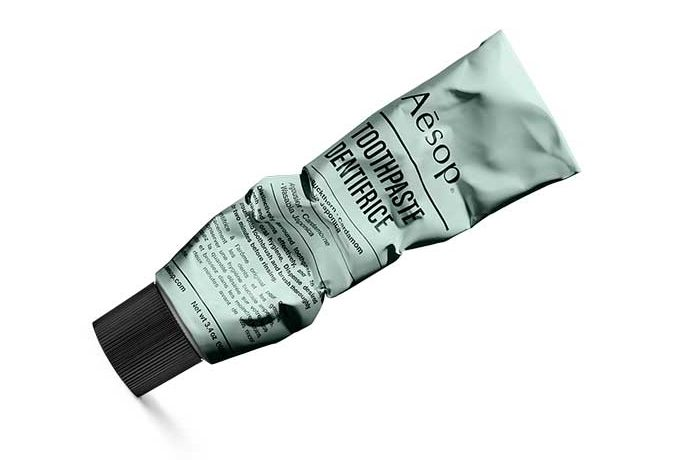 aesop natural toothpaste