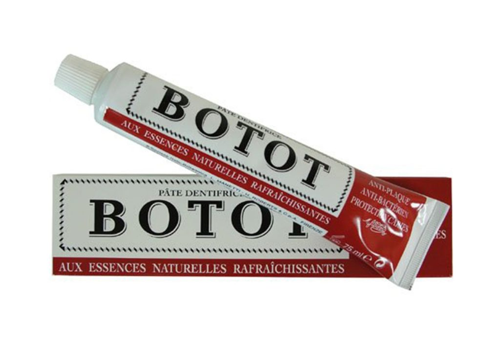 botot first toothpaste in world