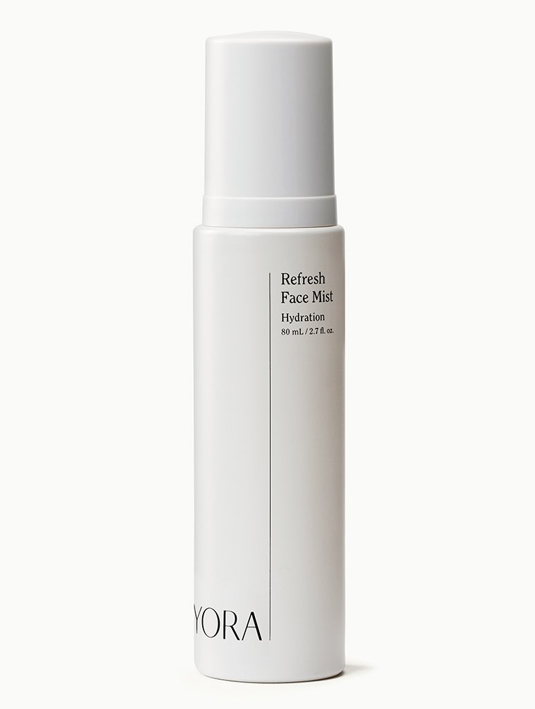 yora refresh face mist skincare routine