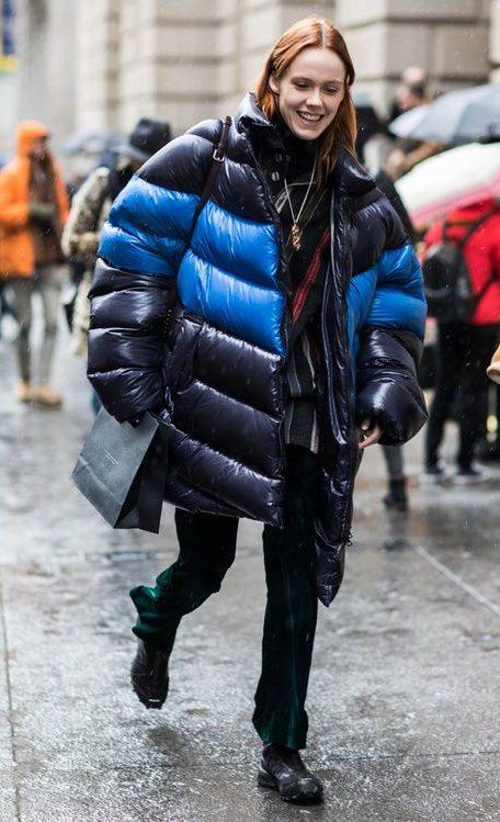 puffer jacket style