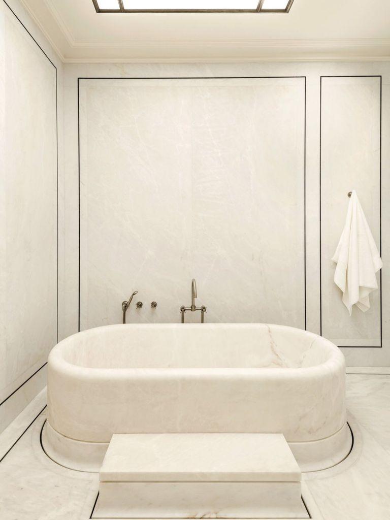 joseph dirand paris apartment bathroom