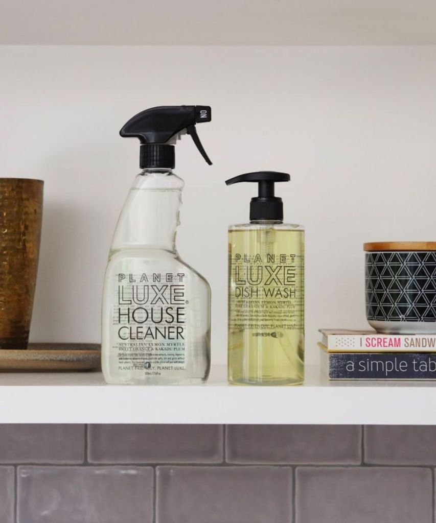 planet luxe sustainable natural cleaning products