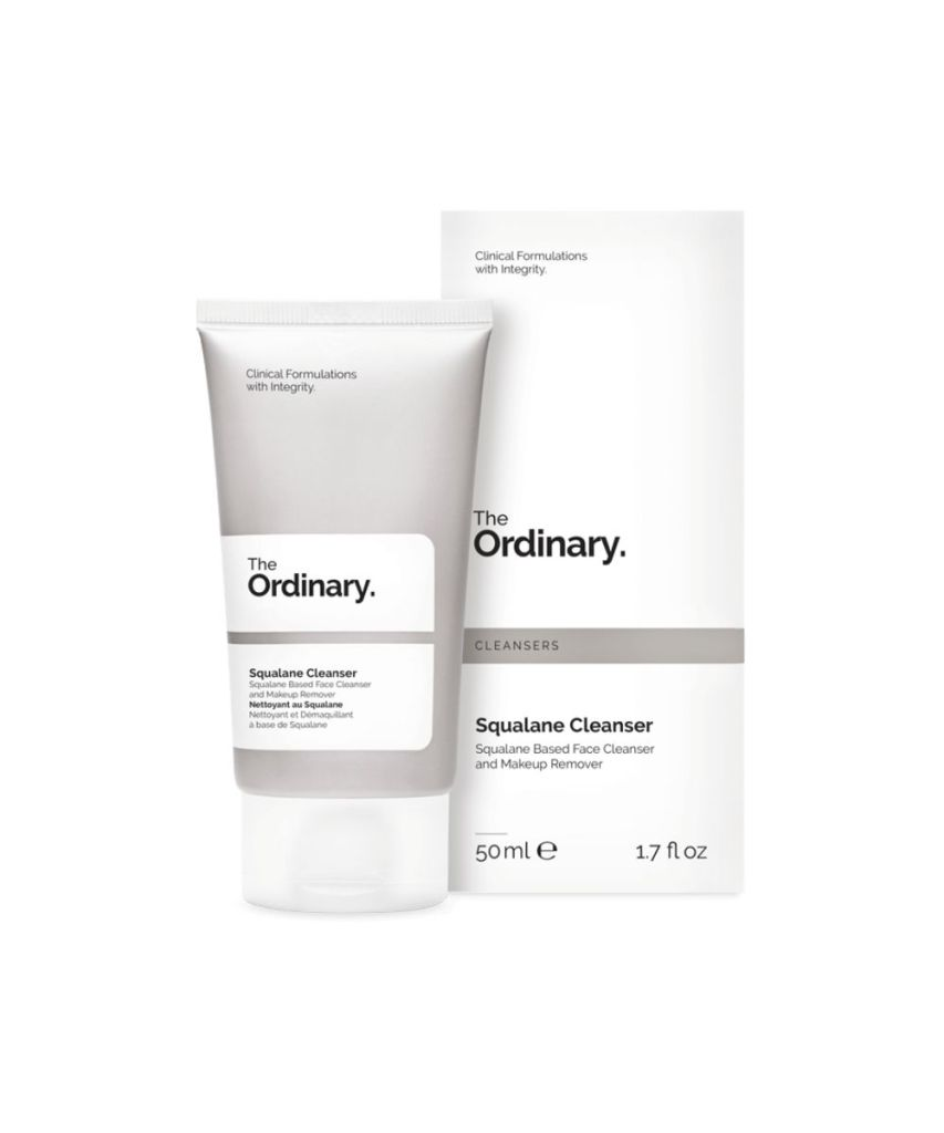 squalane cleanser the ordinary