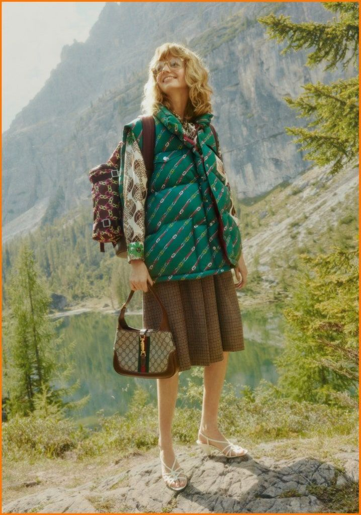 gucci x the north face collection collaboration