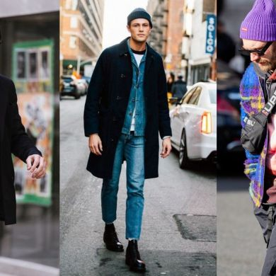 how to wear a beanie for men