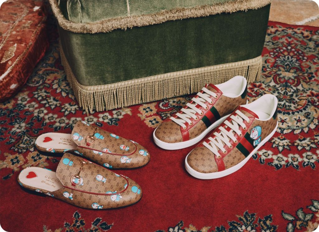 doraemon x gucci collection chinese lunar new year