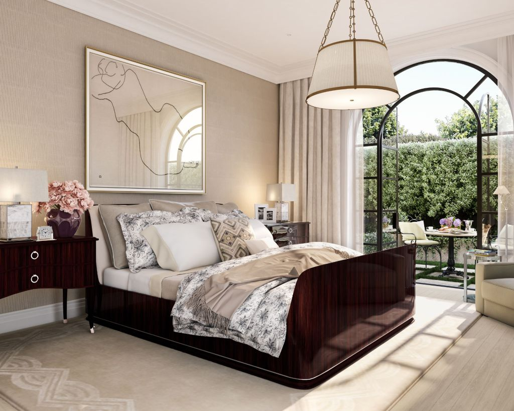 Fifty Two Black bedroom