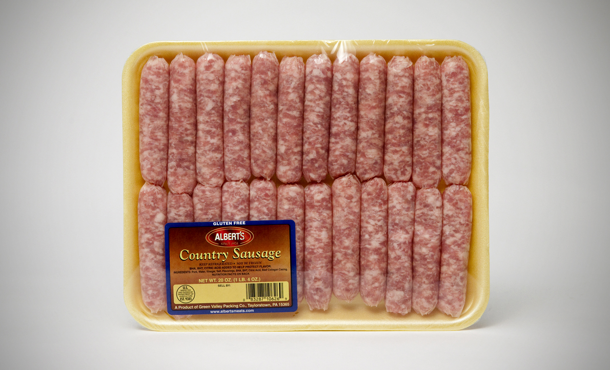 Country Sausage  Alberts Meats