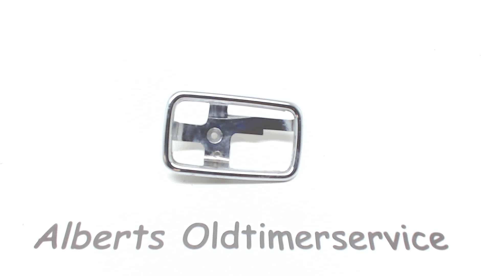Mercedes W114 W115 Deurgreep houder Chroom 1087660611