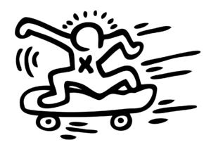 skateboard planche à roulettes