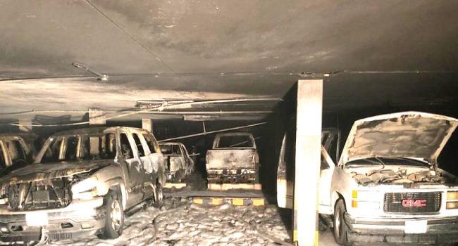 مجهول يحرق 10 سيارات بالإسكان الجنوبي في جدة