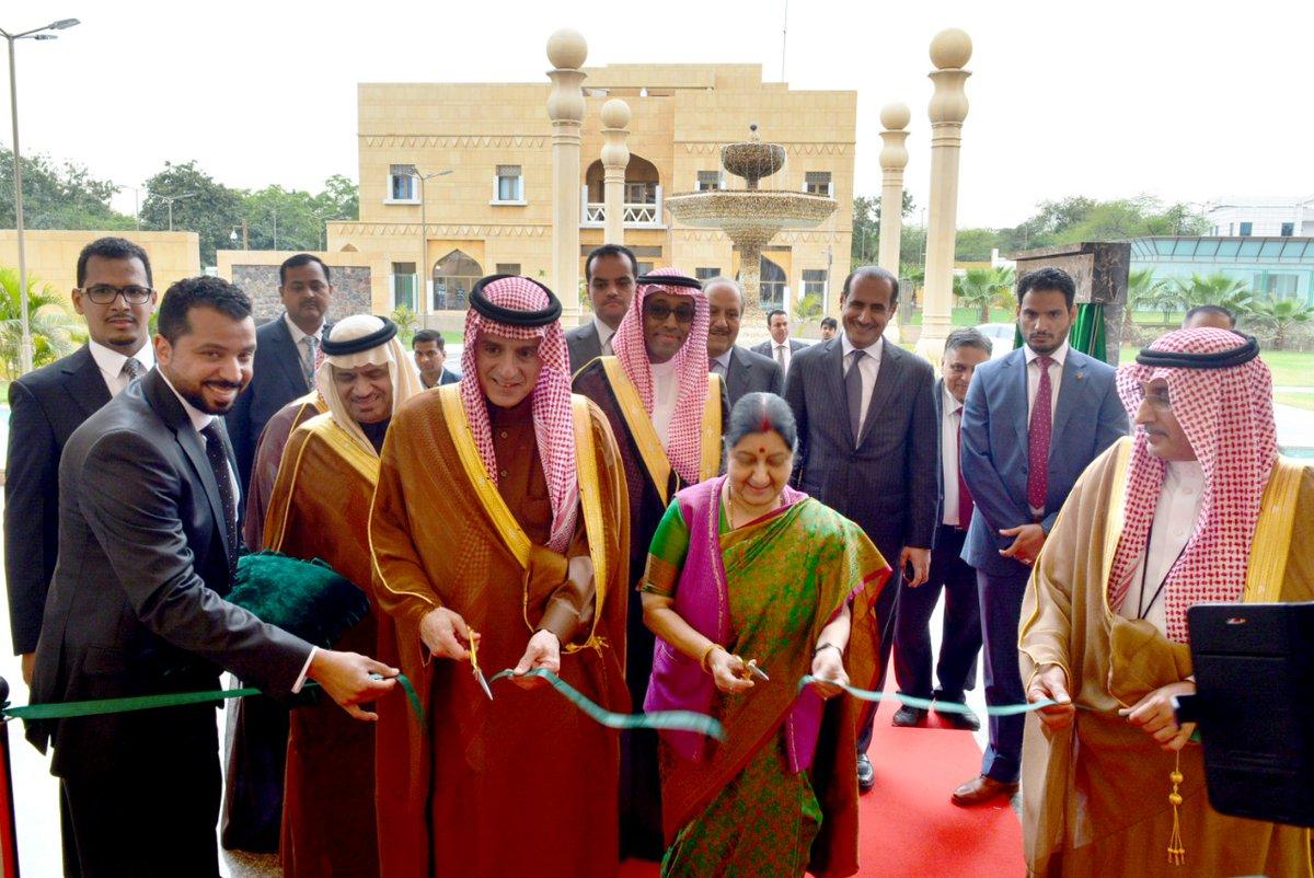 «الجبير» يفتتح مبنى سفارة المملكة لدى الهند